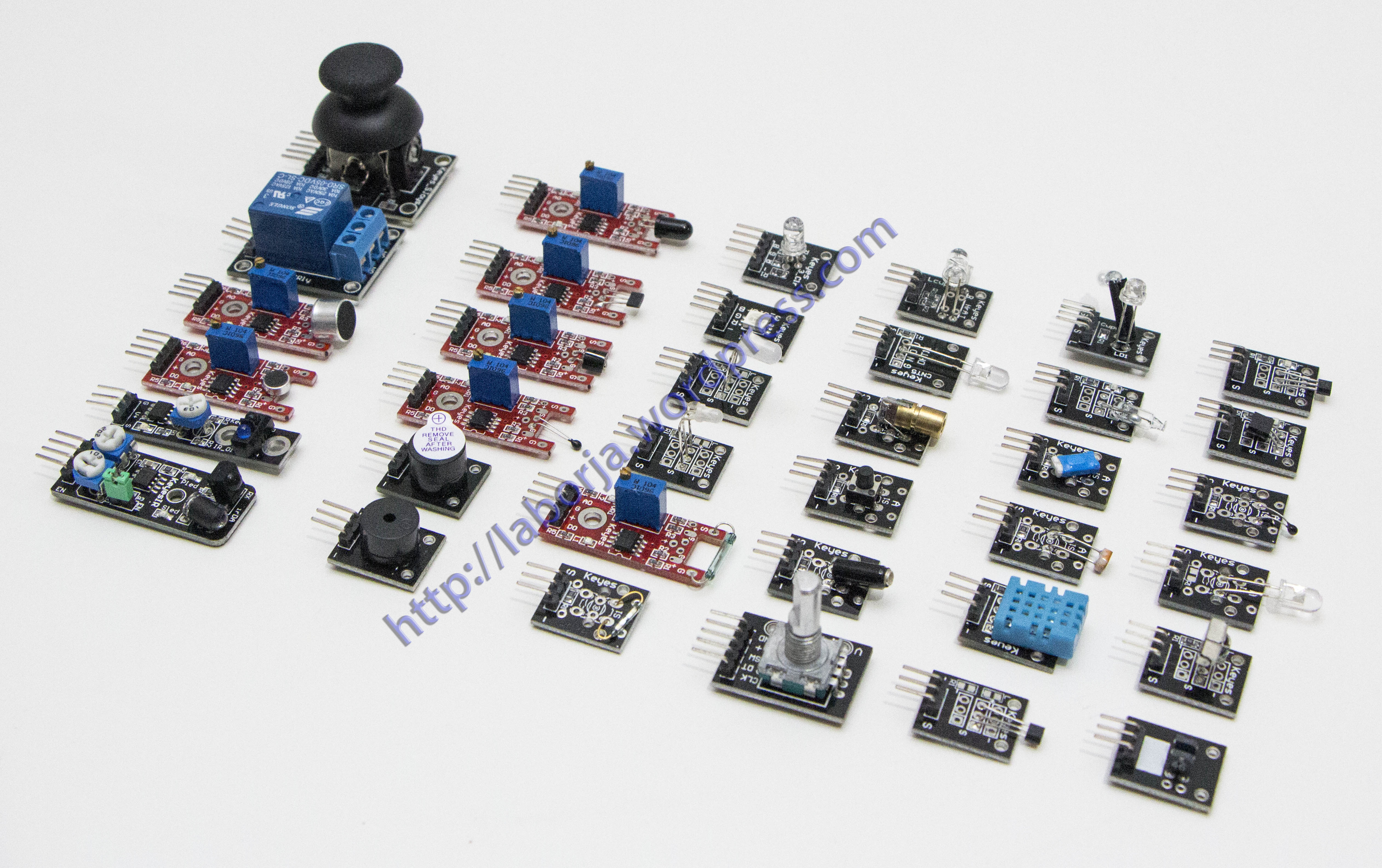 37 In 1 Sensor Kit For Arduino Borja Home Page Copper Clad Boards 10x15cm 100x150x12mm High Quality Circuit Pcb