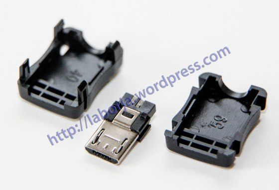 USB Micro Male Plug