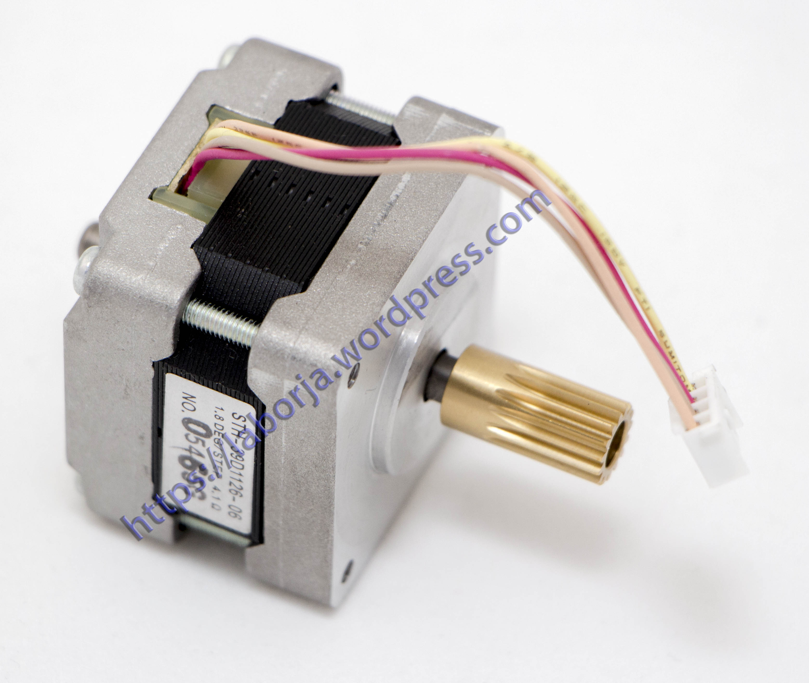 Stepper Motor Sth 39d1126 06 Borja Home Page Wiring Pdf 18deg Step 2 Phase Hybrid Stepping Electric Cnc
