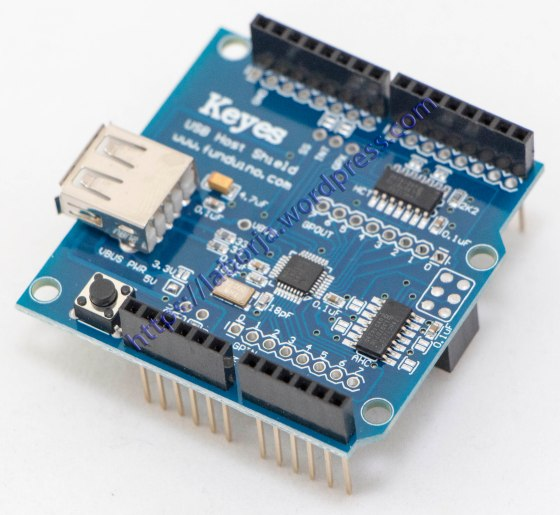 USB Host Shield 2.0 a