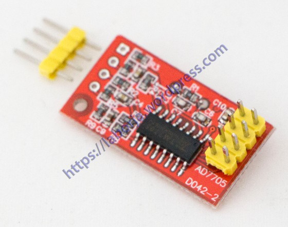 AD7705 Dual 16 bit ADC Data Acquisition Module | Borja Home Page