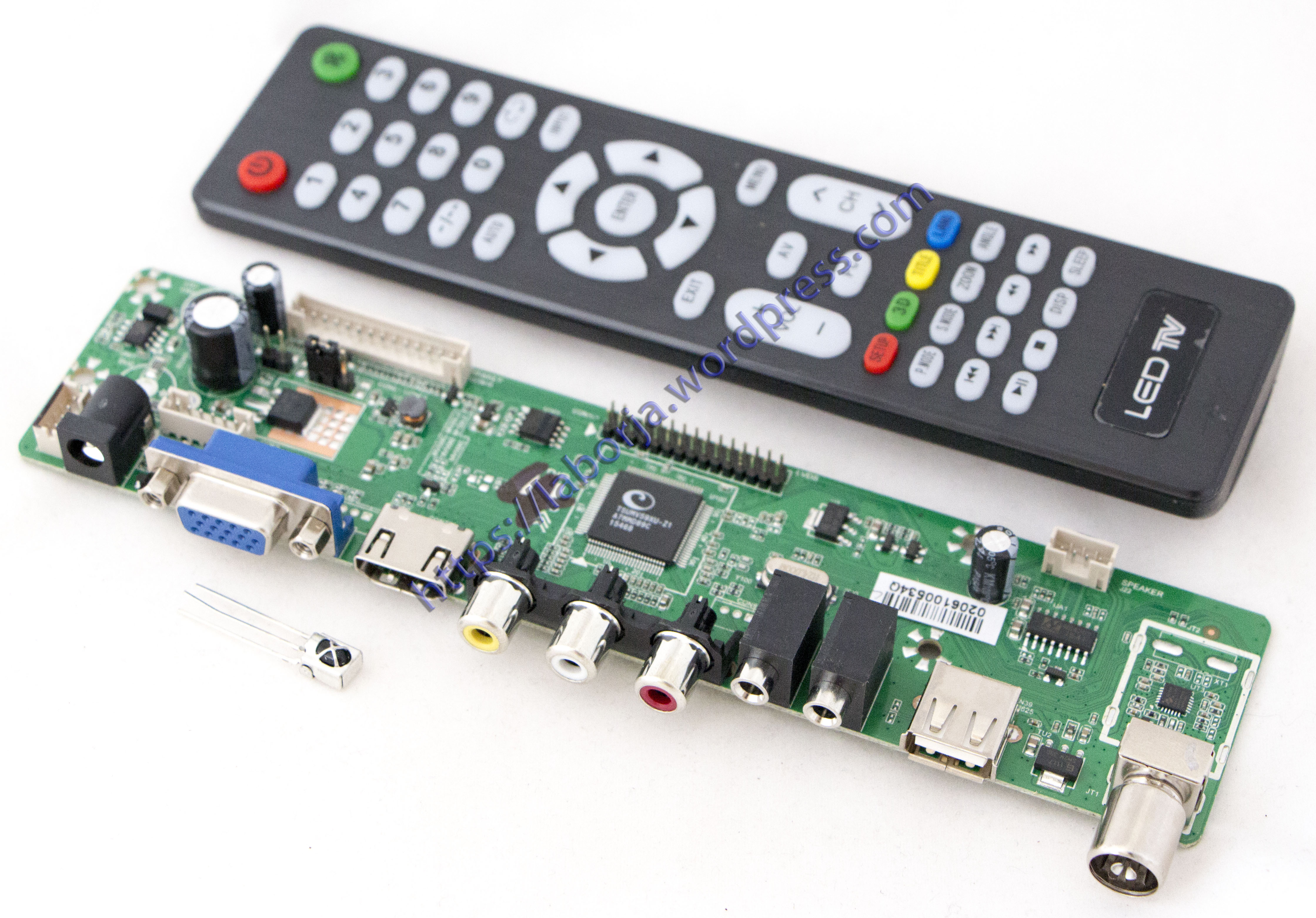 V59 Universal LCD TV Controller Driver Board | Borja Home Page
