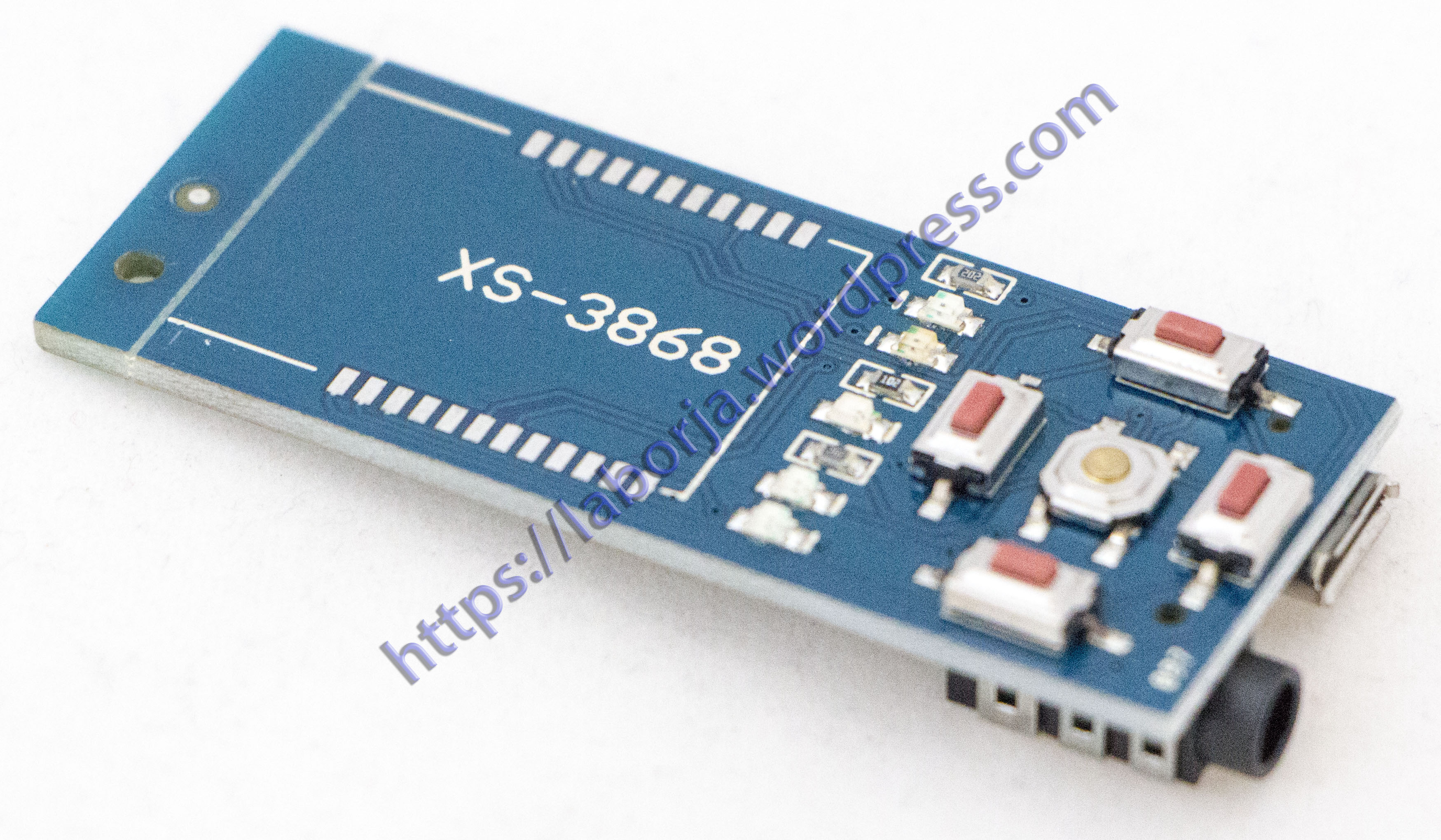 XS3868 Backplane Adapter | Borja Home Page