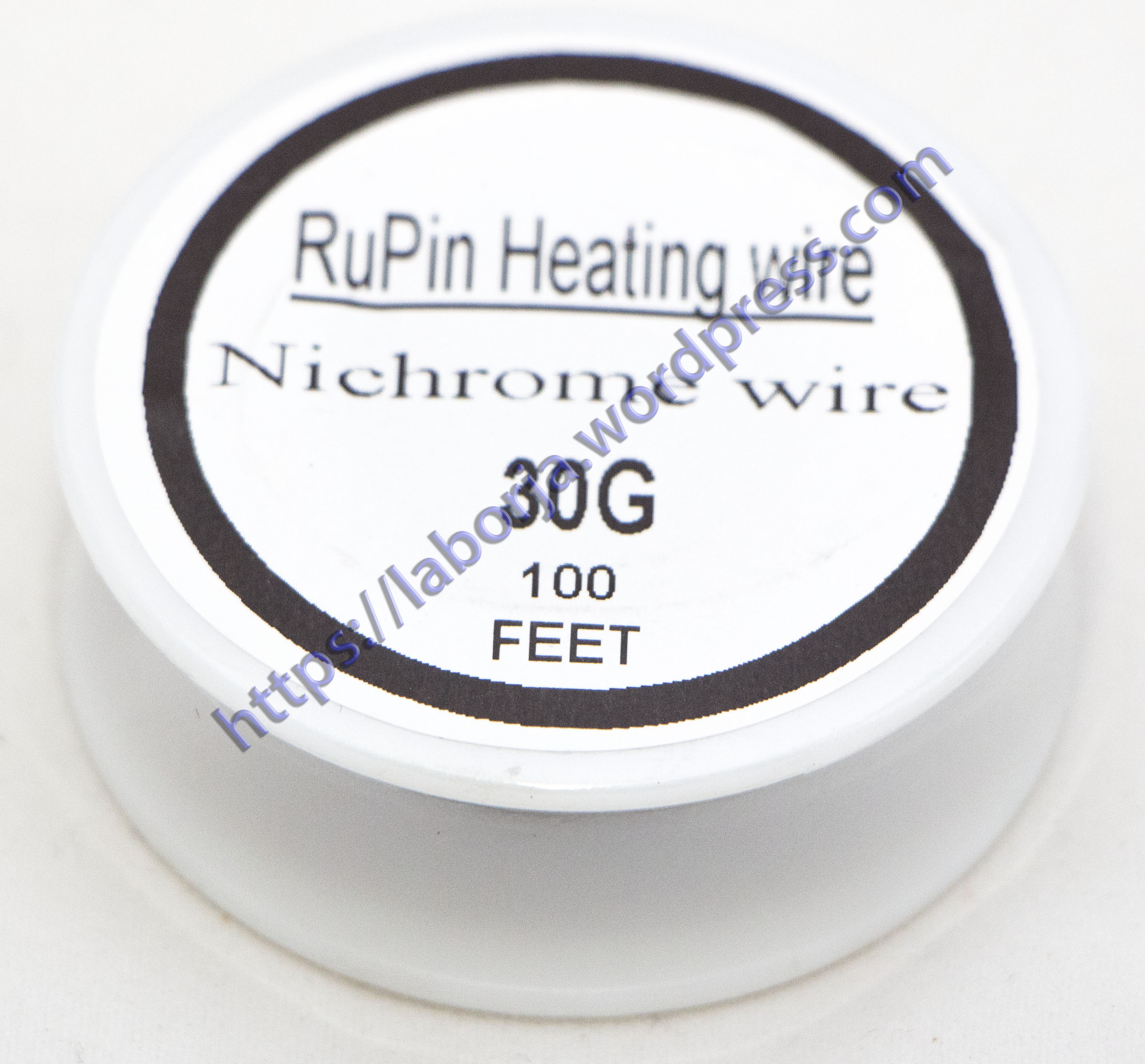 Nichrome Wire | Borja Home Page