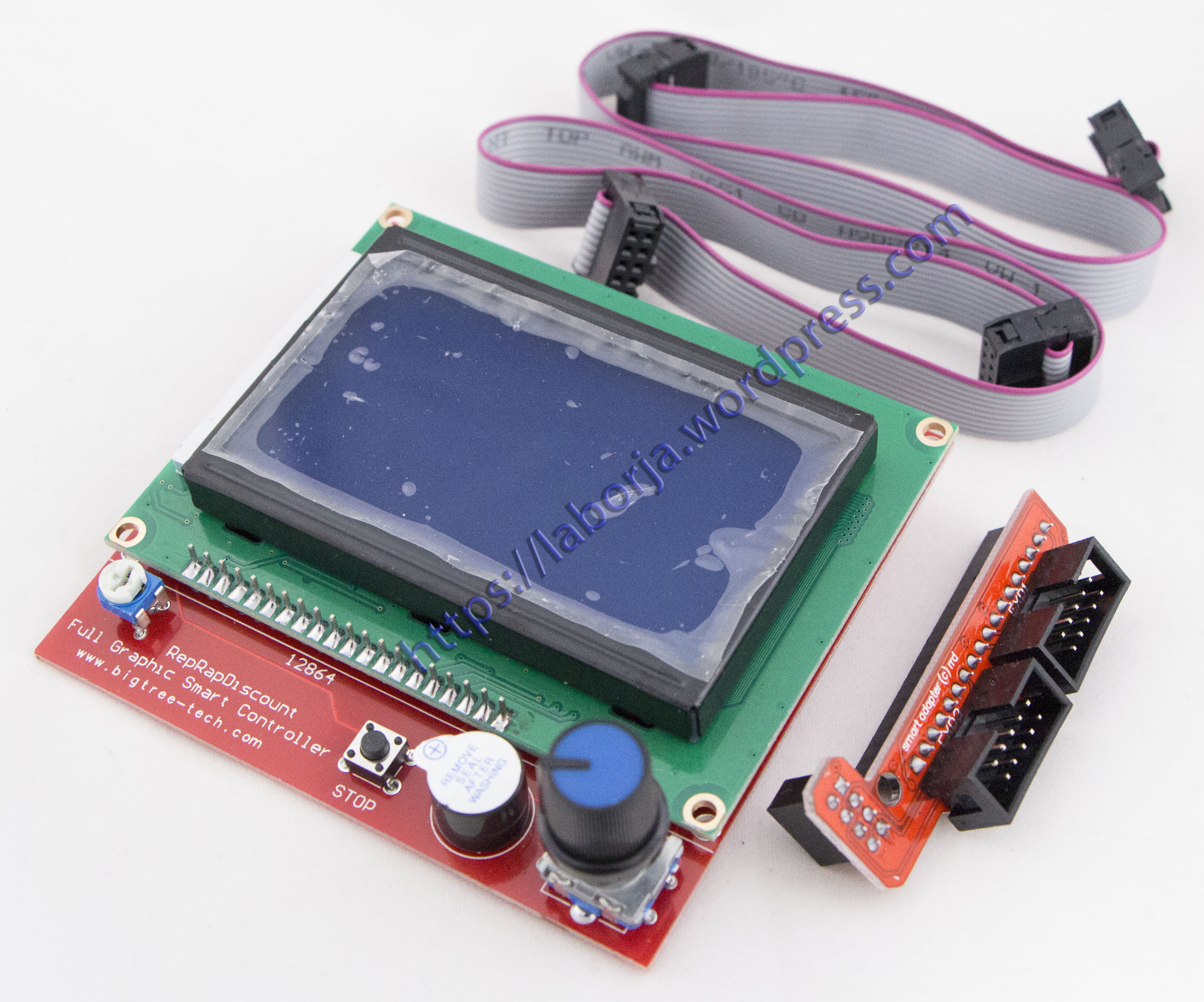 Ramps 14 Lcd 12864 Blue Screen Borja Home Page Copper Clad Boards 10x15cm 100x150x12mm High Quality For Circuit Pcb