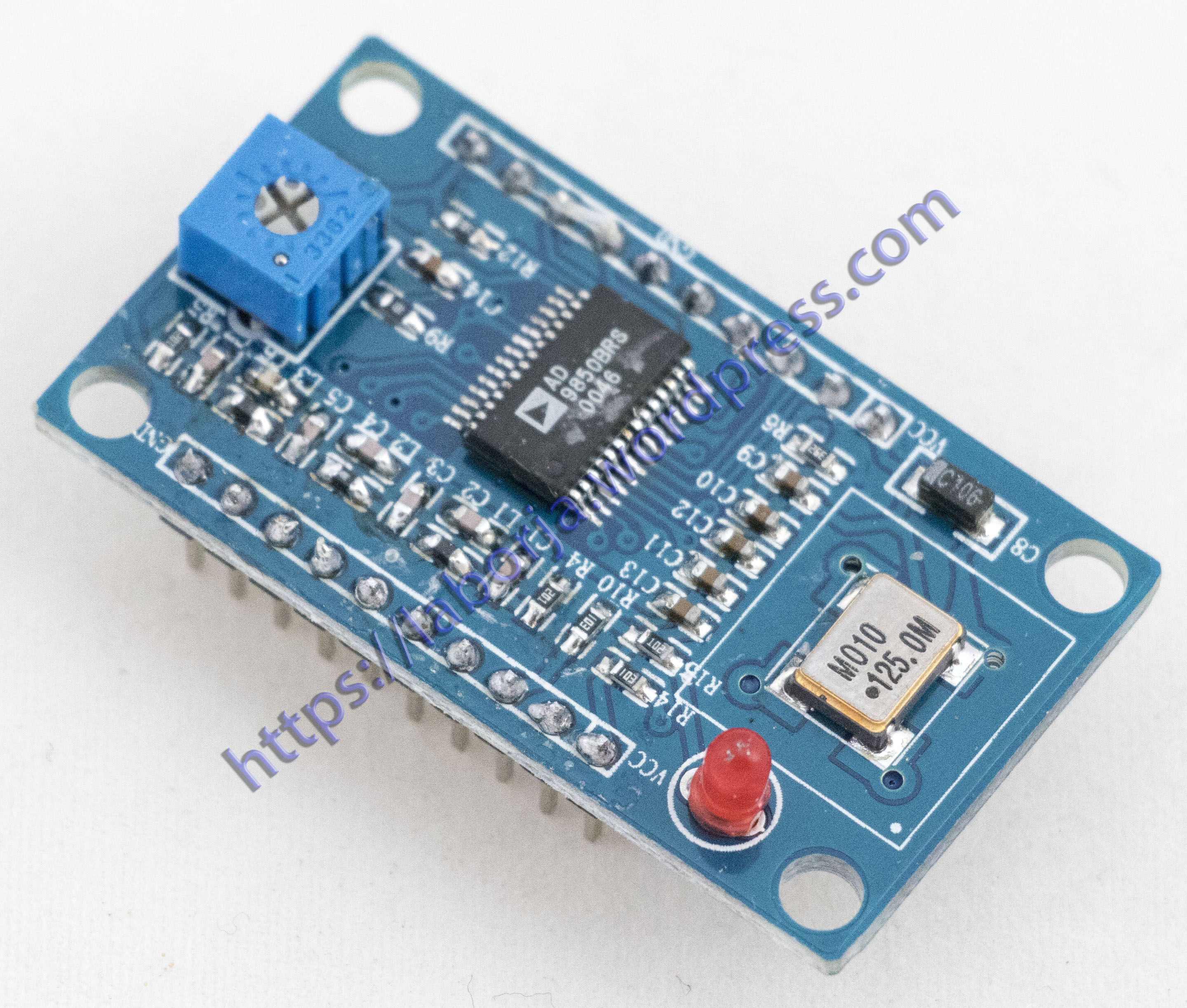 AD9850 DDS Signal Generator Module | Borja Home Page