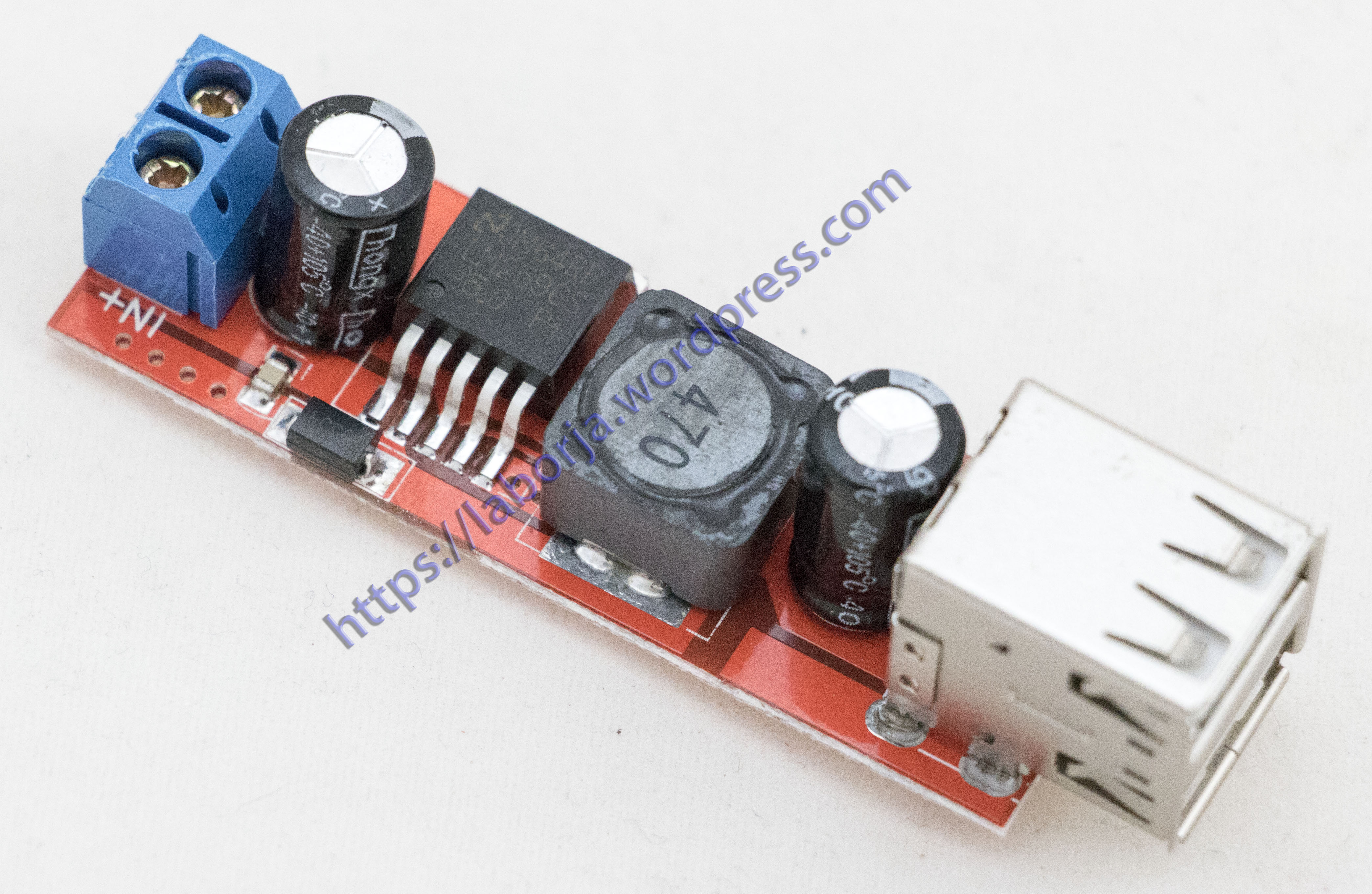 12V to 5V Dual USB Power Adapter DC Converter Connector Car Motor 3A Charger
