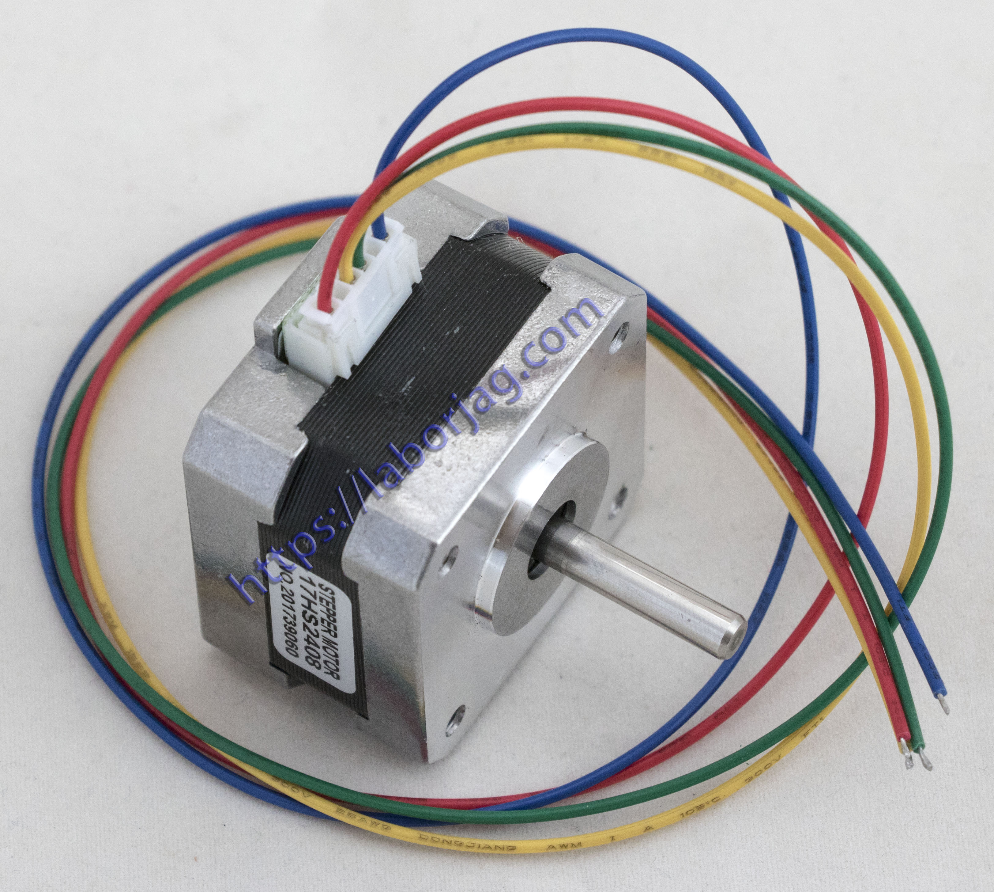 Nema 17 Stepper Motor 17hs2408 Borja Home Page 7 Lead Wiring 4 42 42bygh 06a Ce Rosh Iso Cnc Laser And 3d Printer