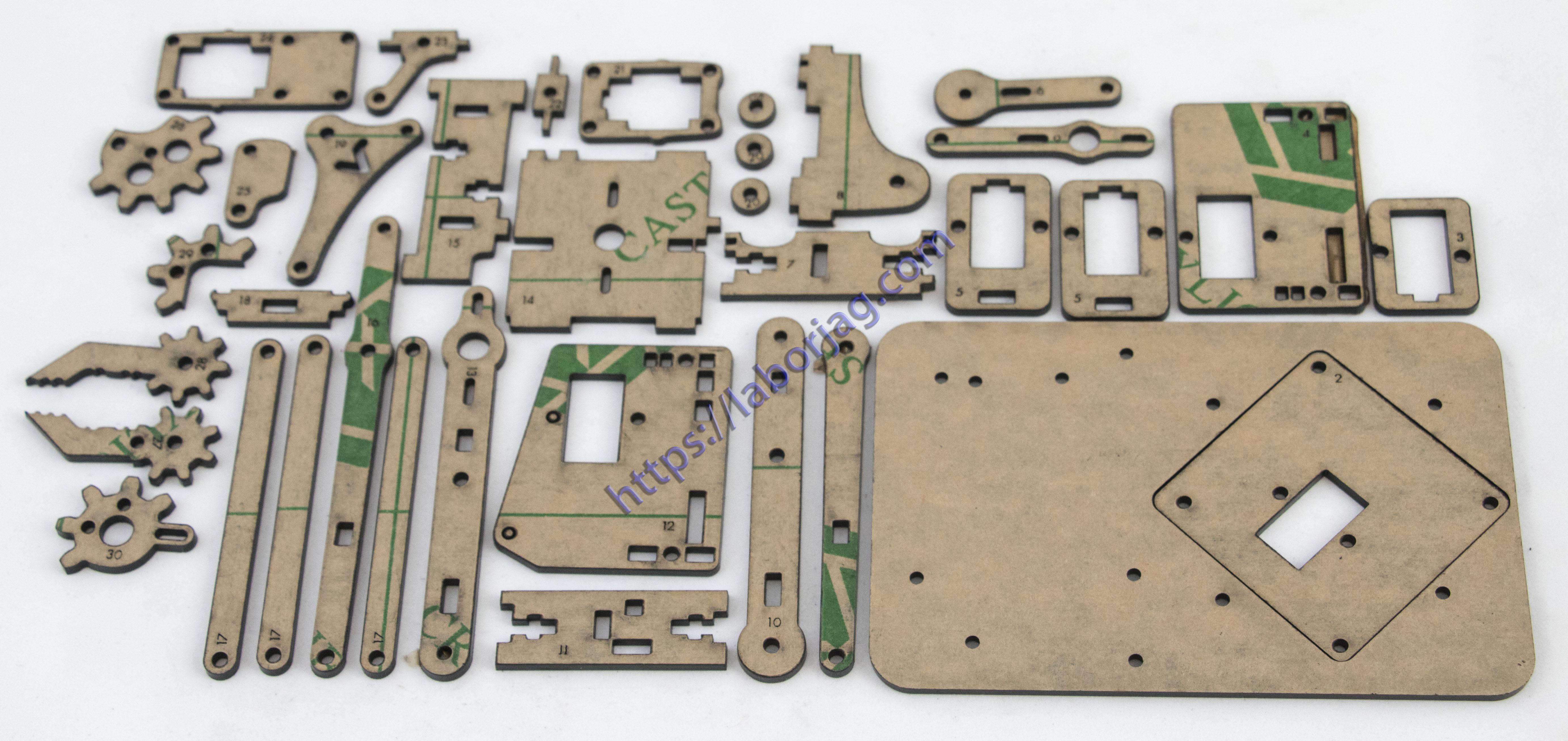 MeArm – Color Acrylic Robot Arm Plate Kit | Borja Home Page | 5529 x 2615 jpeg 1845kB