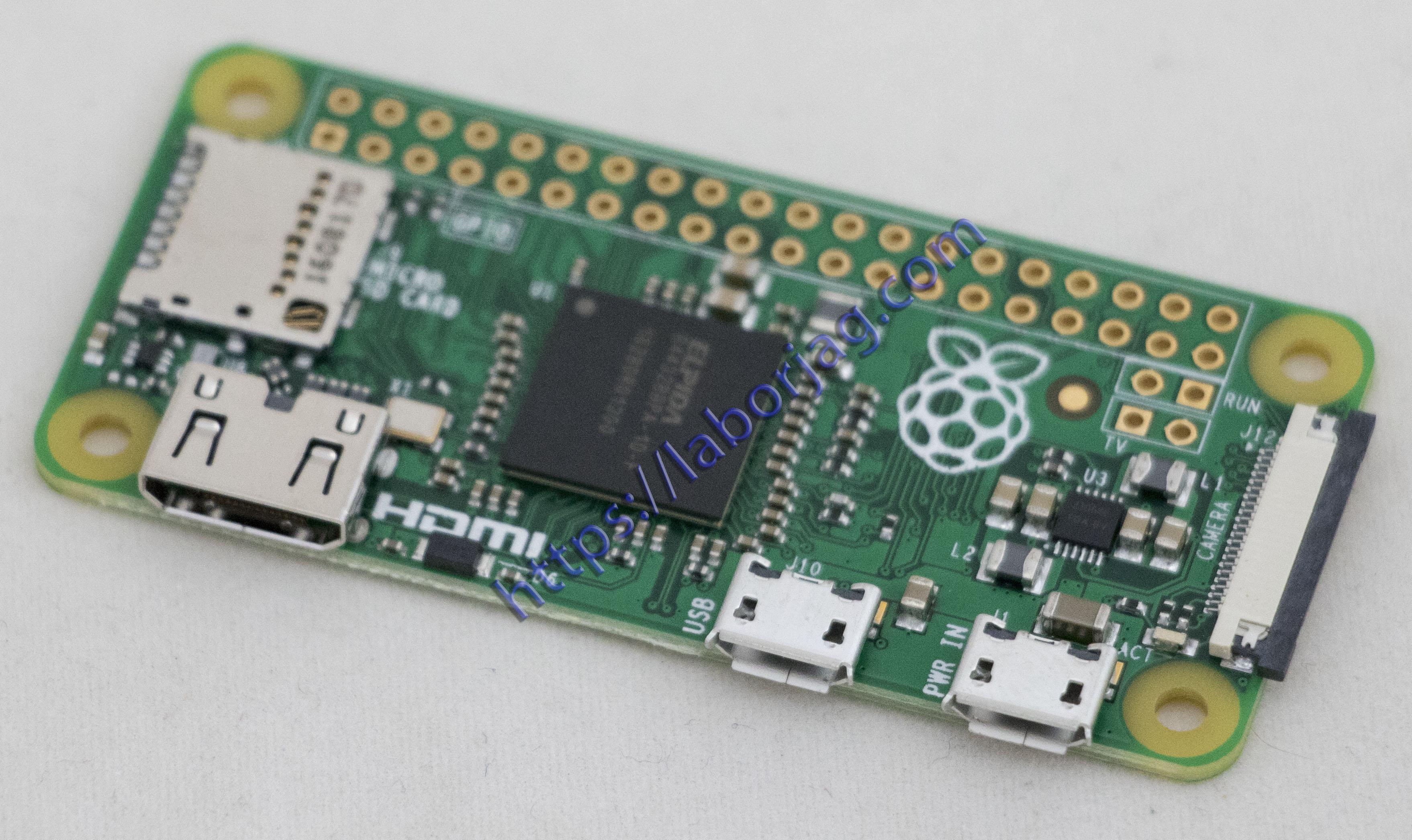 Raspberry Pi Zero Board Camera Version | Borja Home Page