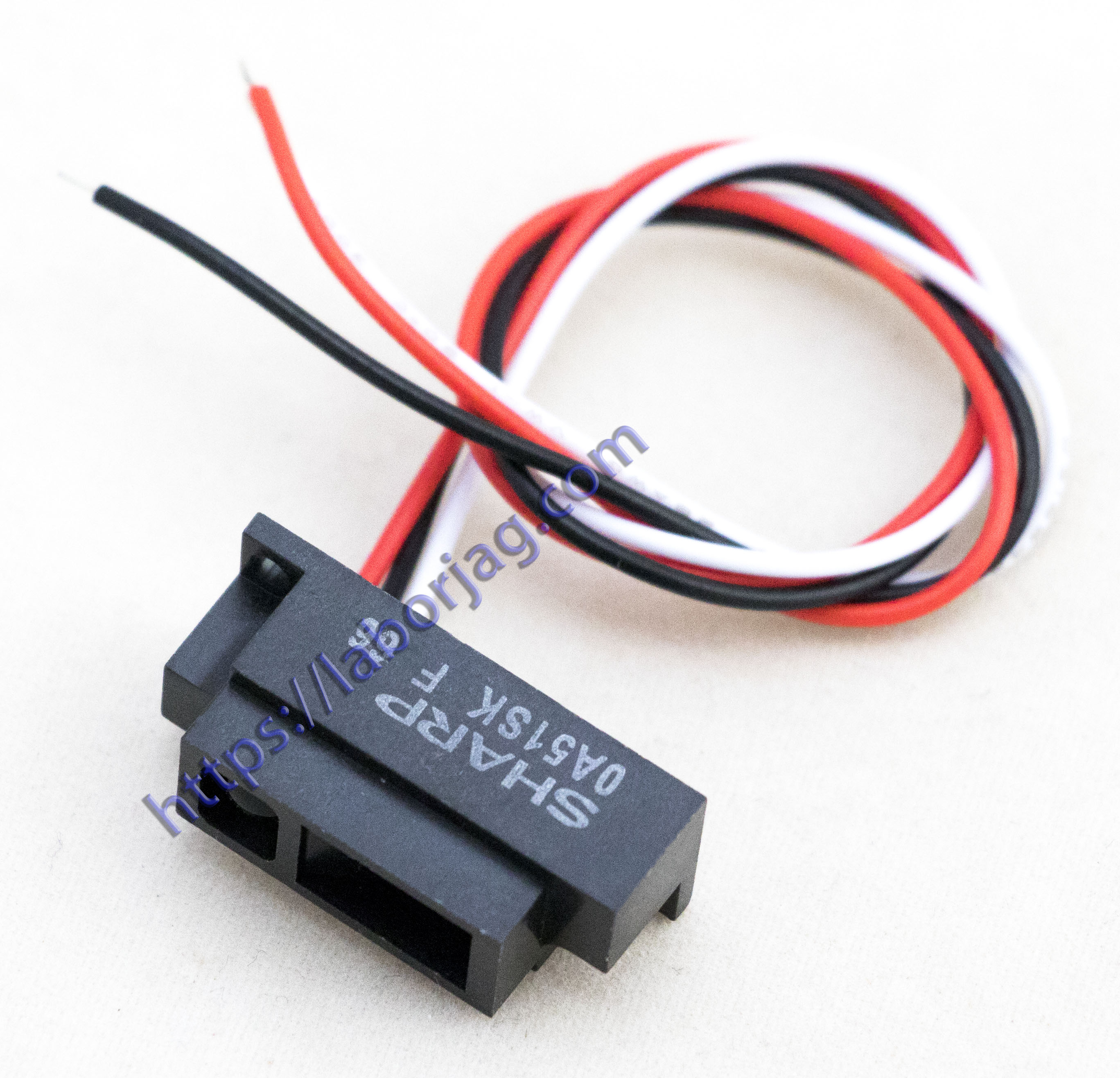 Sharp Ir Sensor Gp2y0a51sk0f Borja Home Page Repeater Circuit Electronic Components