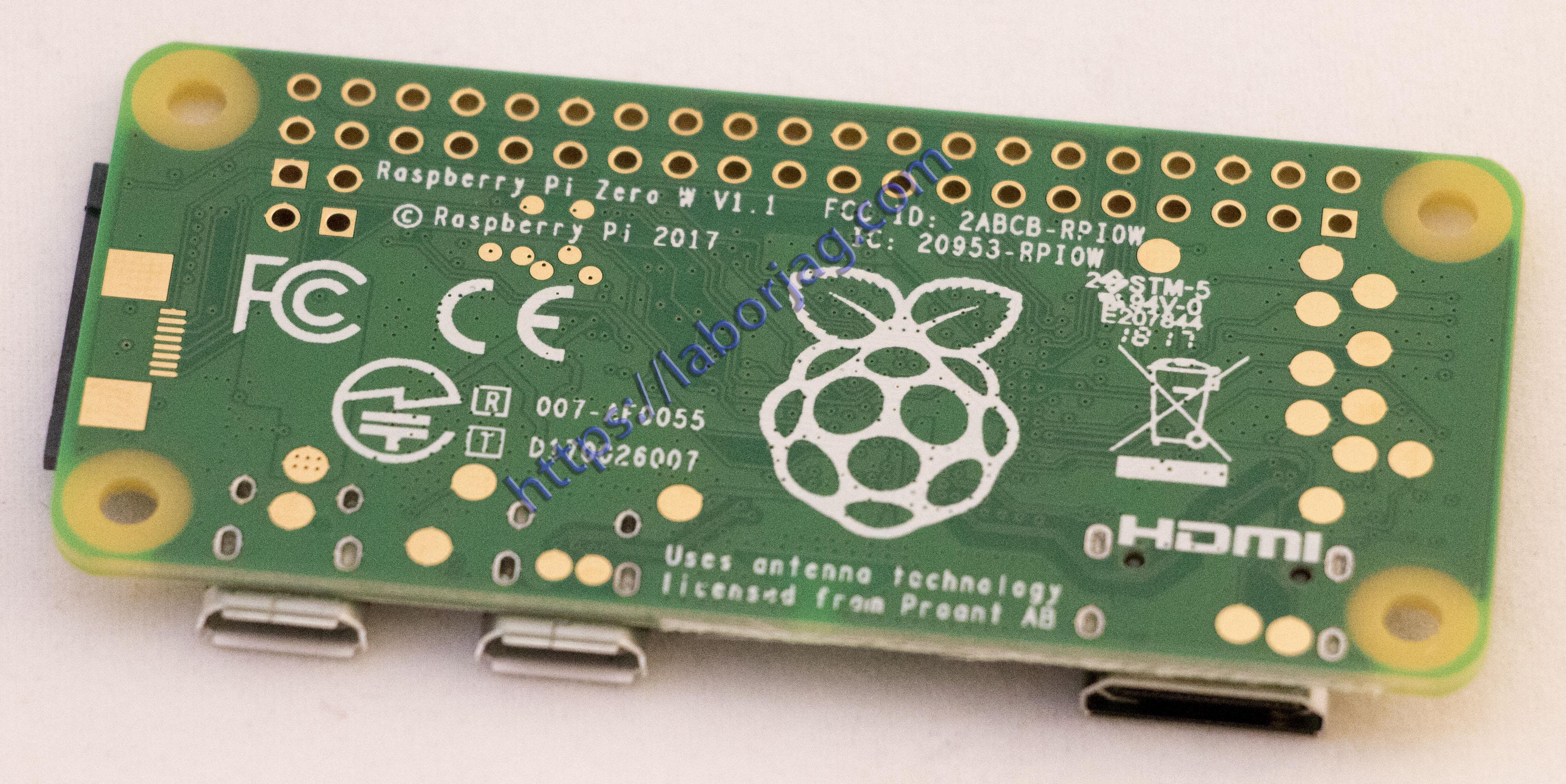 Raspberry Pi Zero Board Wireless and Bluetooth 4 1 Version